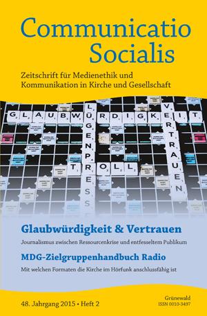 Cover der Ausgabe 2/2015